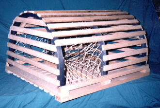 New Half Round Lobster Traps